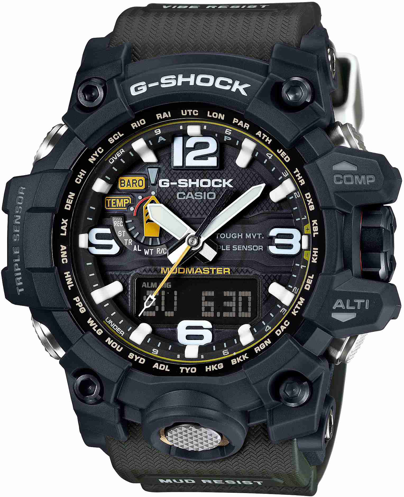 Casio G Shock Gw A1000 1adr Inceleme Ve Ayarlama Youtube