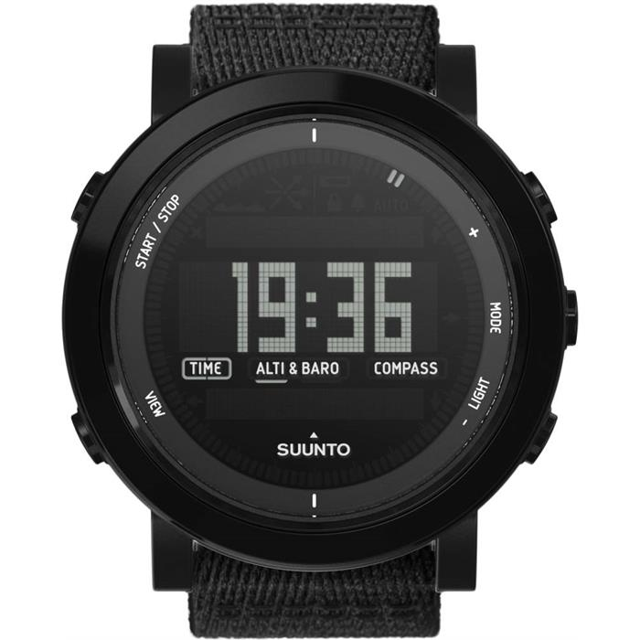 Suunto SS022438000 ESSENTIAL CERAMIC ALL BLACK TEKSTİL Erkek Kol Saati