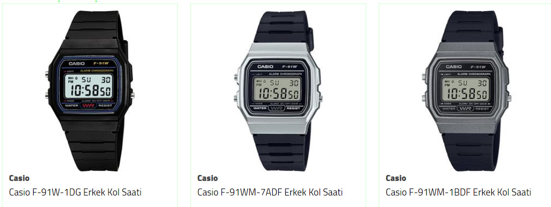 asker saati casio